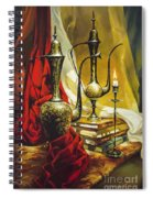 Oriental Jugs Spiral Notebook