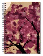Oriental Plum Blossom Spiral Notebook