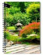 Oriental Scenic Spiral Notebook