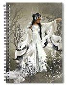 Oriental Sprinkle Spiral Notebook