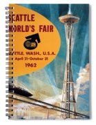 Original 1962 Seattle Worlds Fair Promotion Spiral Notebook
