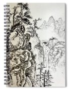 Original Chinese Nature Scene Spiral Notebook