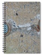 Original Damaged Pipes Spiral Notebook