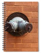 Original Female Pipe Spiral Notebook