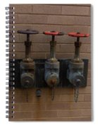 Original Four Pipes Spiral Notebook