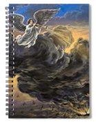 Fifth Trumpet Angel Spiral Notebook