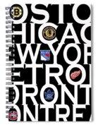 Original Six Spiral Notebook