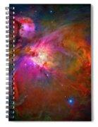 Orion Nebula Spiral Notebook