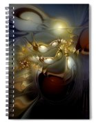 Orion's Pursuit Spiral Notebook