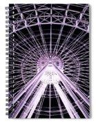 Orlando Eye  Spiral Notebook