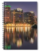Orlando Sunrise Panorama Spiral Notebook