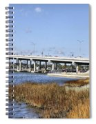 Ormond Beach Bridge Spiral Notebook