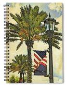 Ormond Beach Patriotic Spiral Notebook