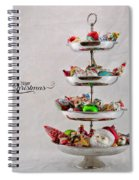 Ornament Compote Spiral Notebook