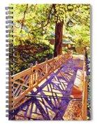 Ornamental Bridge Spiral Notebook