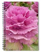 Ornamental Cabbage Spiral Notebook