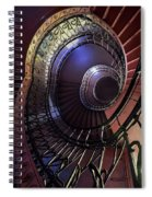 Ornamented Metal Spiral Staircase Spiral Notebook