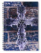 Ornate Cross 2 Spiral Notebook