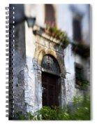Ornate Italian Doorway Spiral Notebook