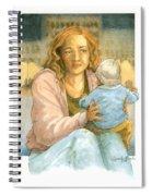 Orphans And Widows Spiral Notebook