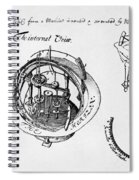 Orrery By Stephen Hales, 1705 Spiral Notebook