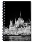 Orszaghaz At Night Spiral Notebook
