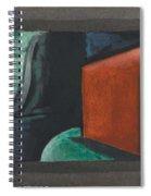 Oscar Bluemner, Study For Approaching Black, 1932 Spiral Notebook