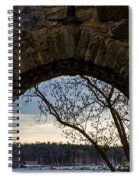 Oslo From Akershus Fortress Spiral Notebook
