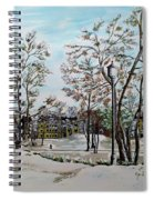Oslo In Winter Spiral Notebook