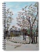Oslo In Winter Spiral Notebook