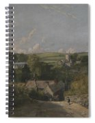 Osmington Village Spiral Notebook