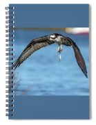 Osprey With Pin Fish Spiral Notebook