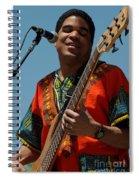 Oteil Burbridge Spiral Notebook