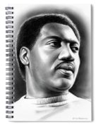 Otis Redding Spiral Notebook