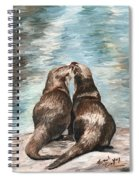 Otter Buddies Spiral Notebook