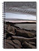 Otter Cliffs Dawn #5 Spiral Notebook