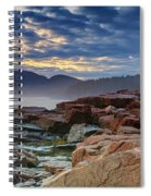 Otter Cove In The Mist Spiral Notebook