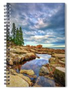 Otter Point Reflections Spiral Notebook