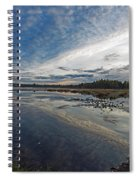 Otters View Spiral Notebook
