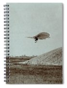 Otto Lilienthal Gliding Experiment Spiral Notebook