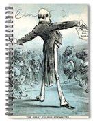 Otto Von Bismarck Spiral Notebook