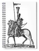 Ottoman Cavalryman, 1576 Spiral Notebook