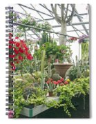 Ott's Greenhouse  Schwenksville Pennsylvania Usa Spiral Notebook