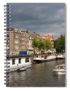Oudeschans And Montelbaanstoren. Amsterdam. Netheralnds. Europe Spiral Notebook