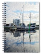 Oulu From The Sea 1  Spiral Notebook