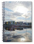 Oulu From The Sea 2 Spiral Notebook