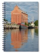 Oulu From The Sea 3 Spiral Notebook