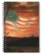Our Banner In The Sky Spiral Notebook