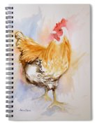 Our Buff Rooster  Spiral Notebook