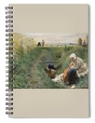Our Daily Bread Anders Zorn Spiral Notebook